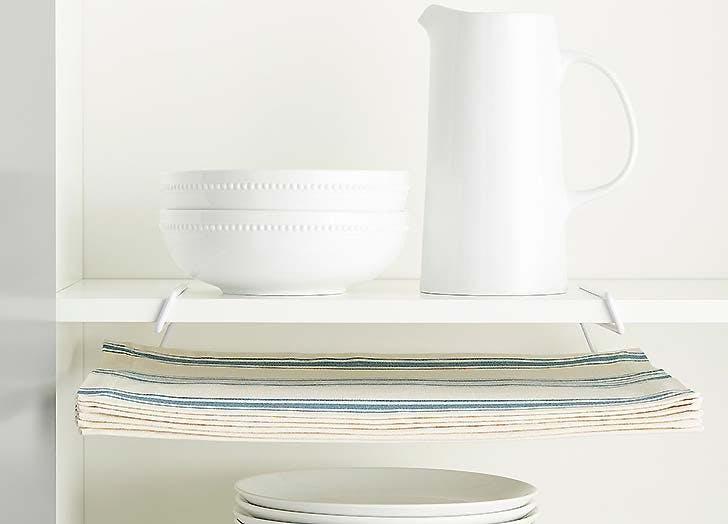 kitchen storage napkins under