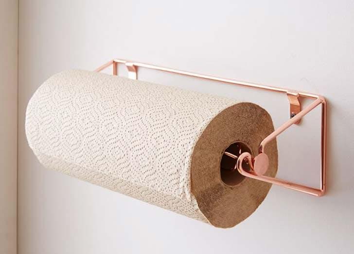 kitchen storage paper towel holder