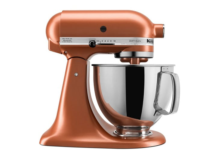 kitchenaid copper stand mixer