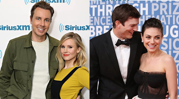 Kristen Bell & Dax Shepard Are for Real Besties with Mila Kunis & Ashton Kutcher
