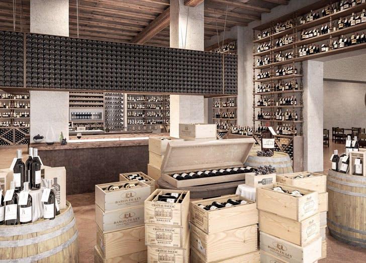 la Centrale wine cellar