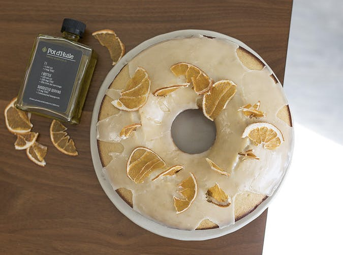 medicated lemon olive oil cake recipe