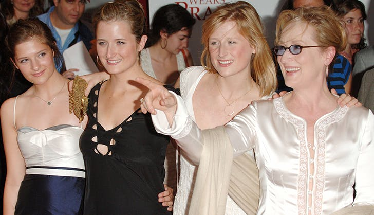 meryl streep and her daughters