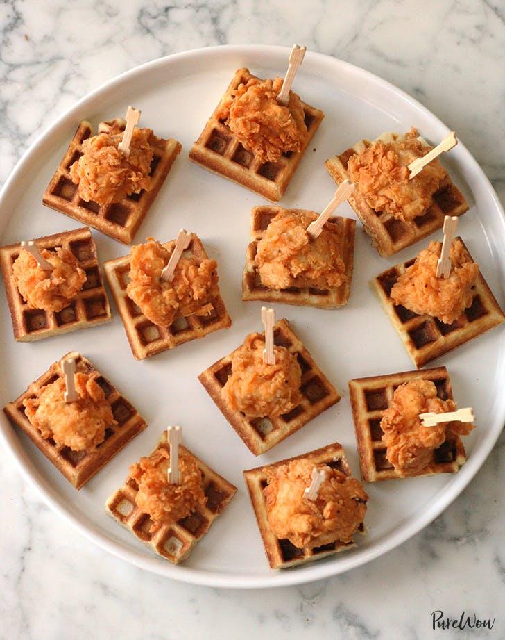 mini chicken and waffles recipe