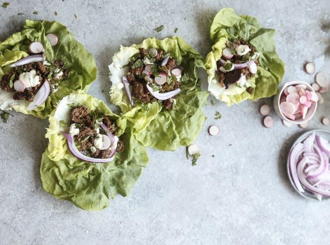 morroccan lamb lettuce wraps recipe