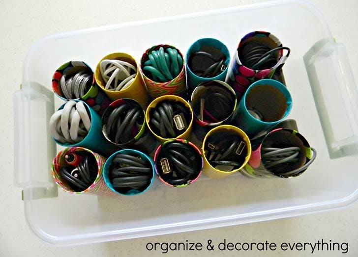 organizing hack cord storage