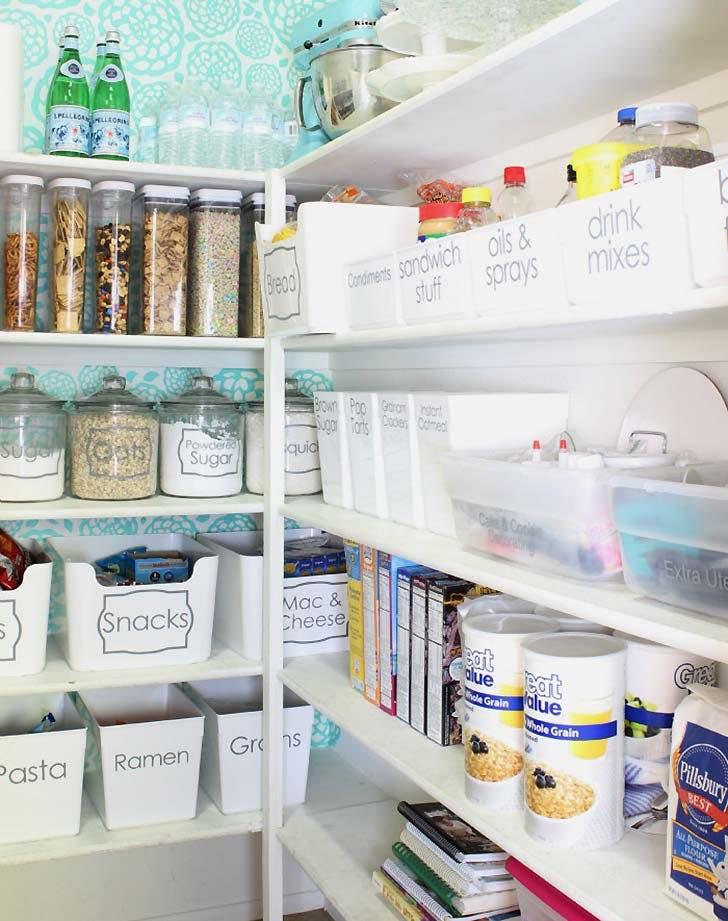 organizing hack pantry