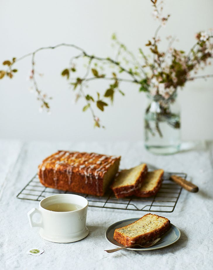 Parsnip and Lemon Loaf Cake