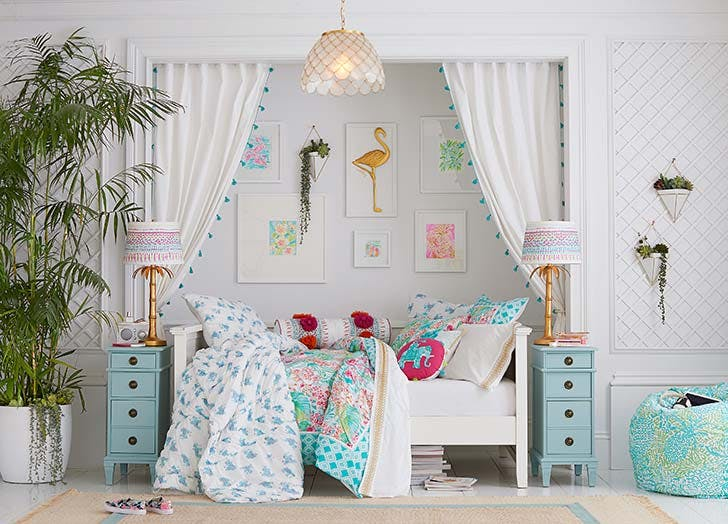 pottery barn lilly pullitzer collab 1
