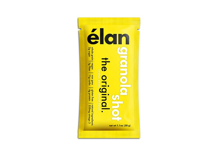 pouch of elan vegan granola