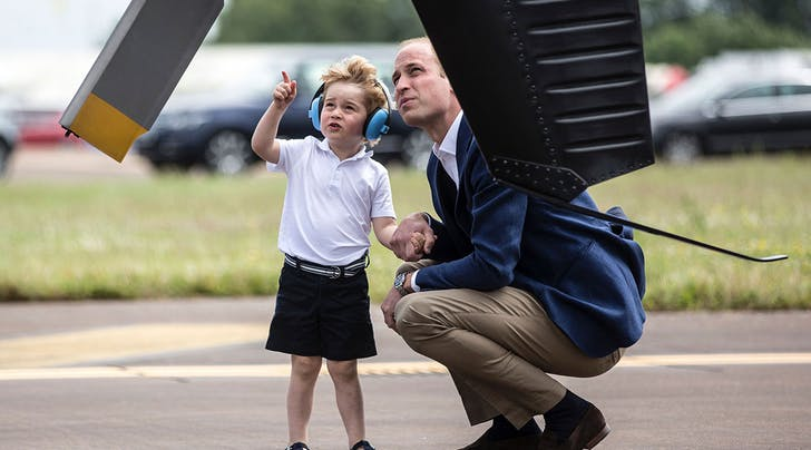 Royal, Shmoyal: *This* Is Prince Georges Dream Job, According to Will