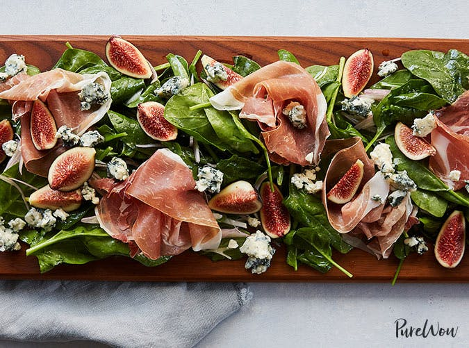 prosciutto fig salad board recipe