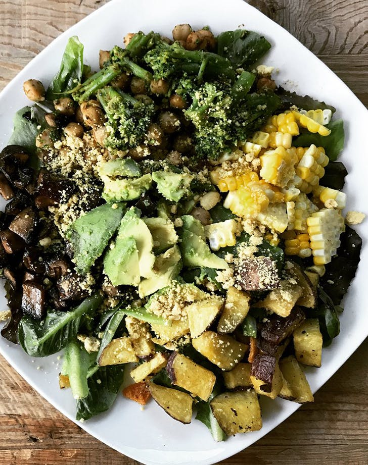 protein salad bowl recipe