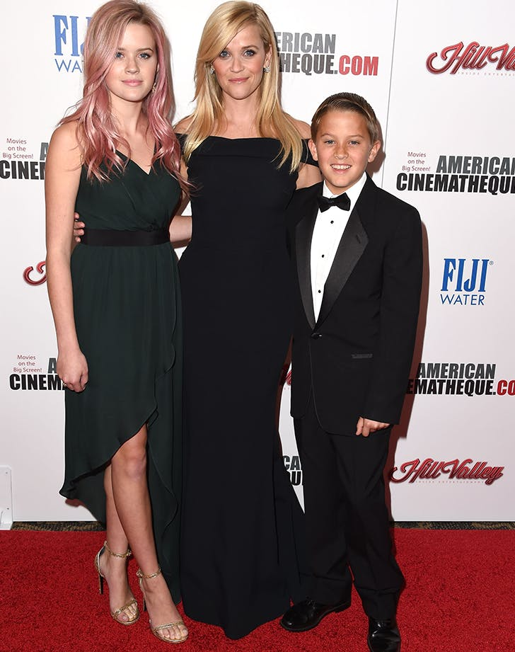 reese witherspoon with two of her children