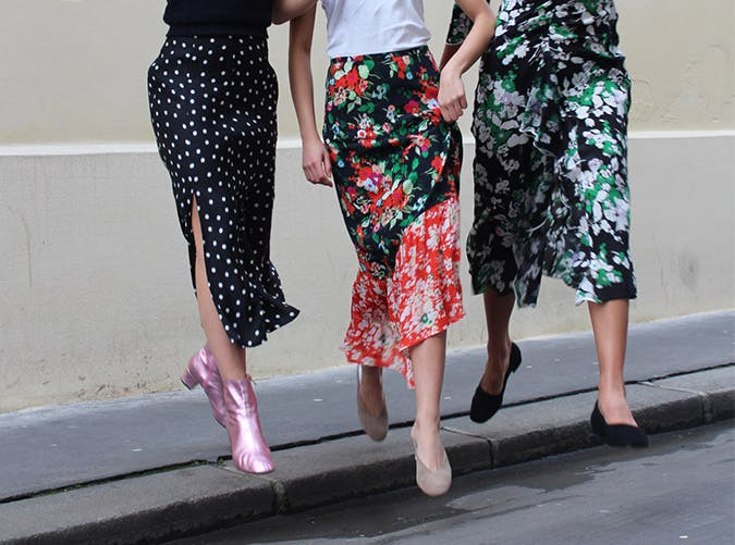 27 Spring Midi Skirts to Wear to Work, the Beach or Even a Wedding