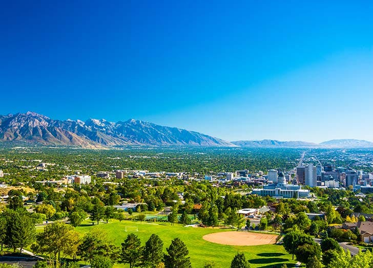 salt lake city landscape
