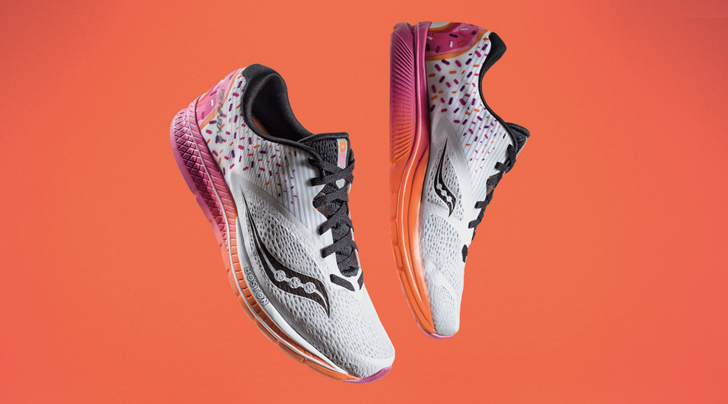 Boston can now run on Dunkin' Donuts shoes
