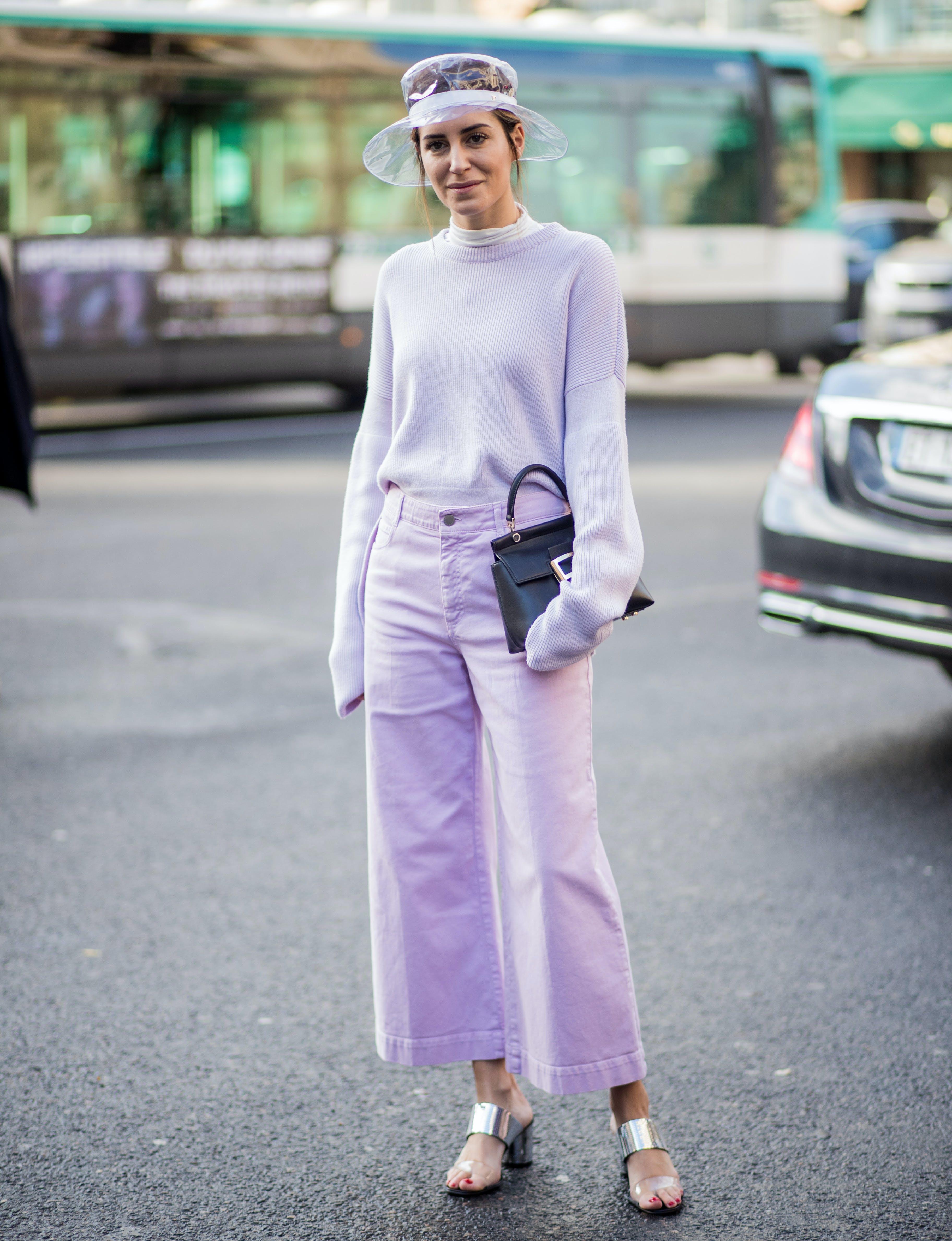 shades of pastel lavender