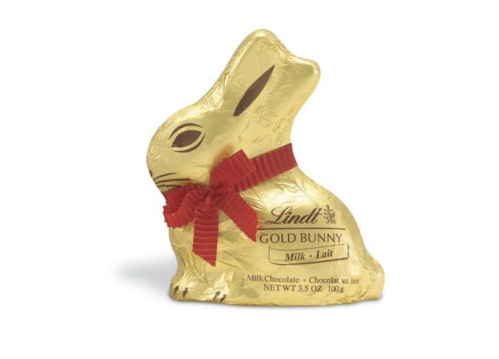 solid milk chocolate bunny
