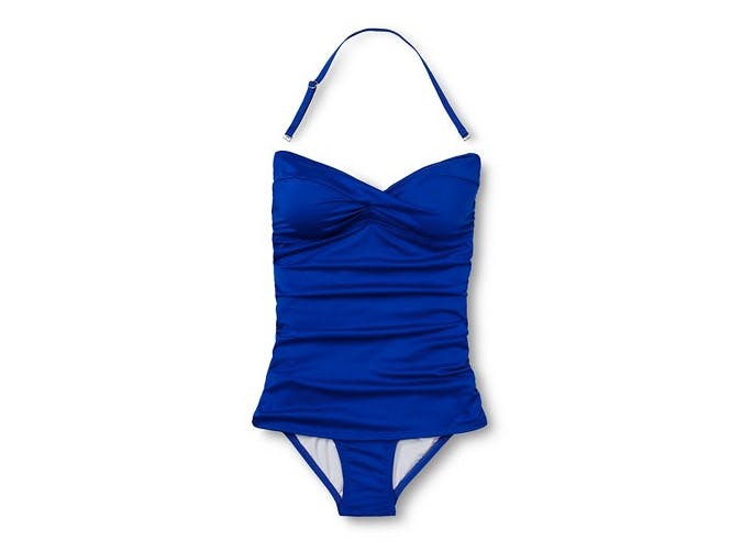 target ruched swimsuit