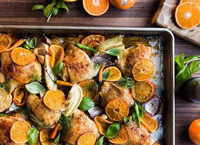 thai spiced mandarin orange chicken 290