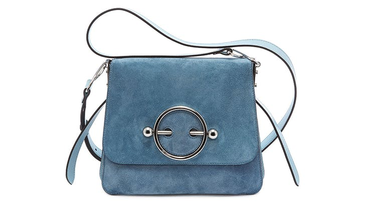 the bluebird disc bag by jw anderson