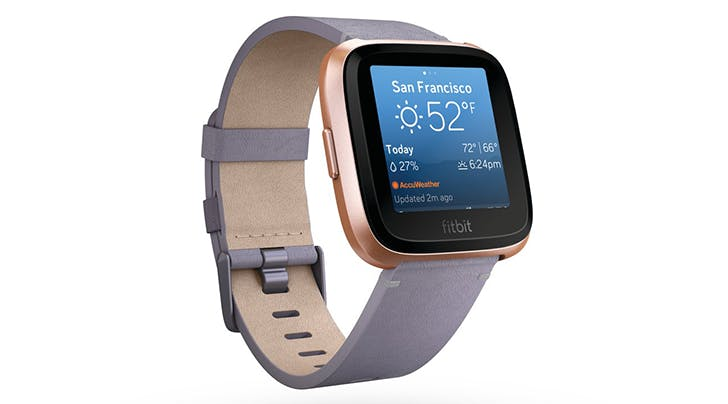 Theres a New Rose-Gold Fitbit and It Has *This* Major One-Up on the Apple Watch