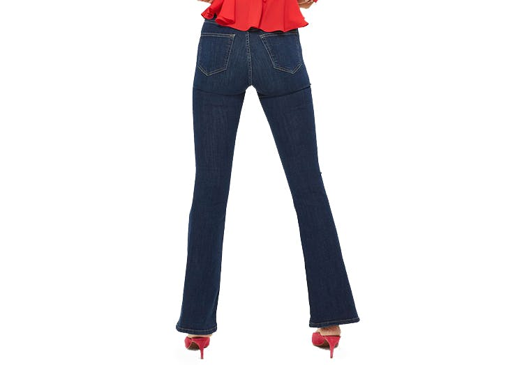topshop tall flare jeans