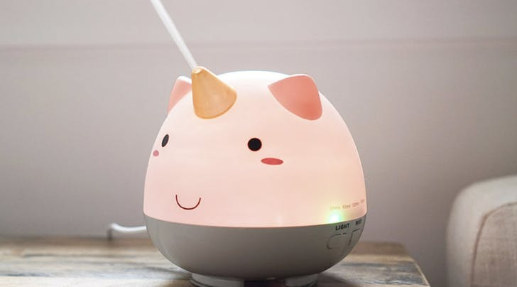 This Unicorn Humidifier Is Perfect for Any Kids Room or Nursery