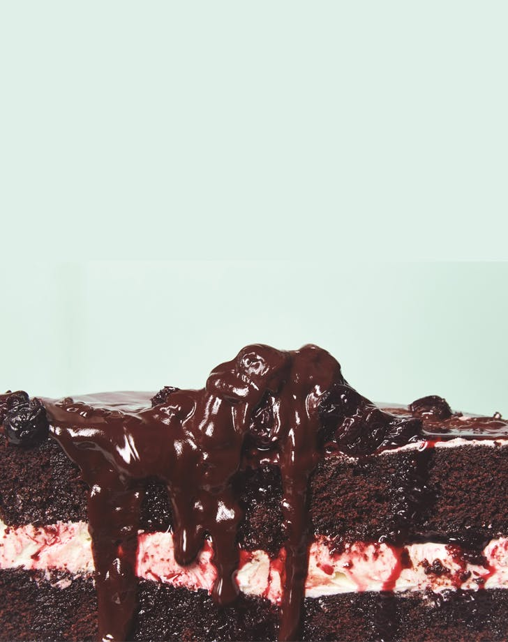 Vegan Black Forest Cherry Cake