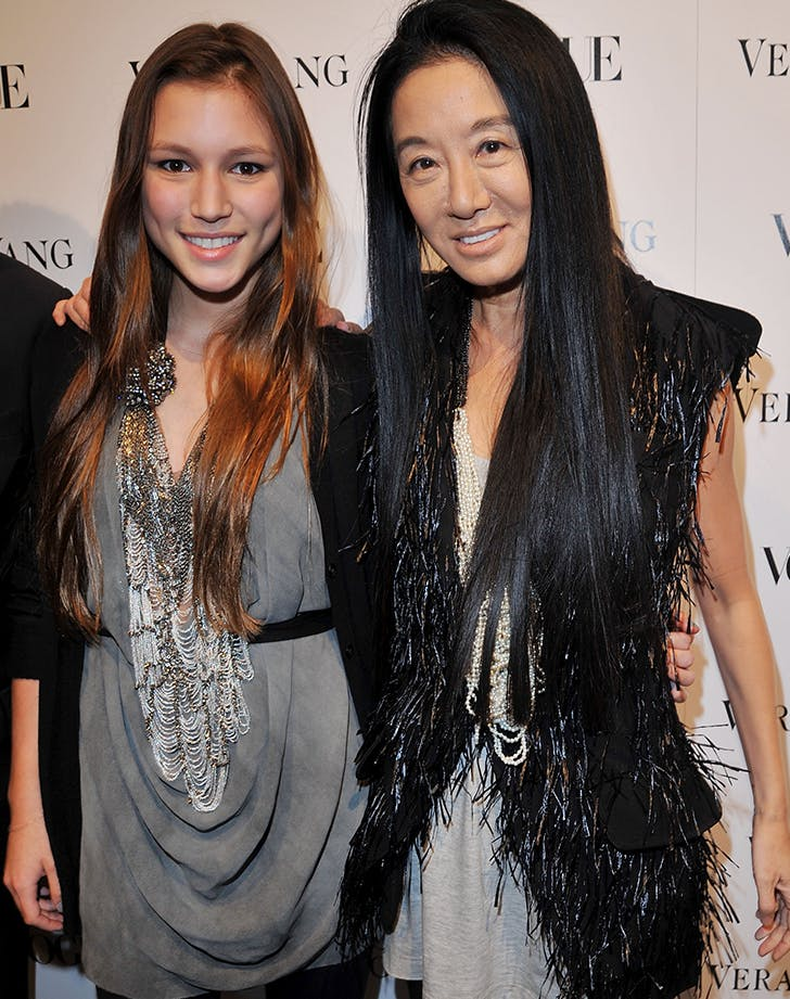 vera wang and her daughter