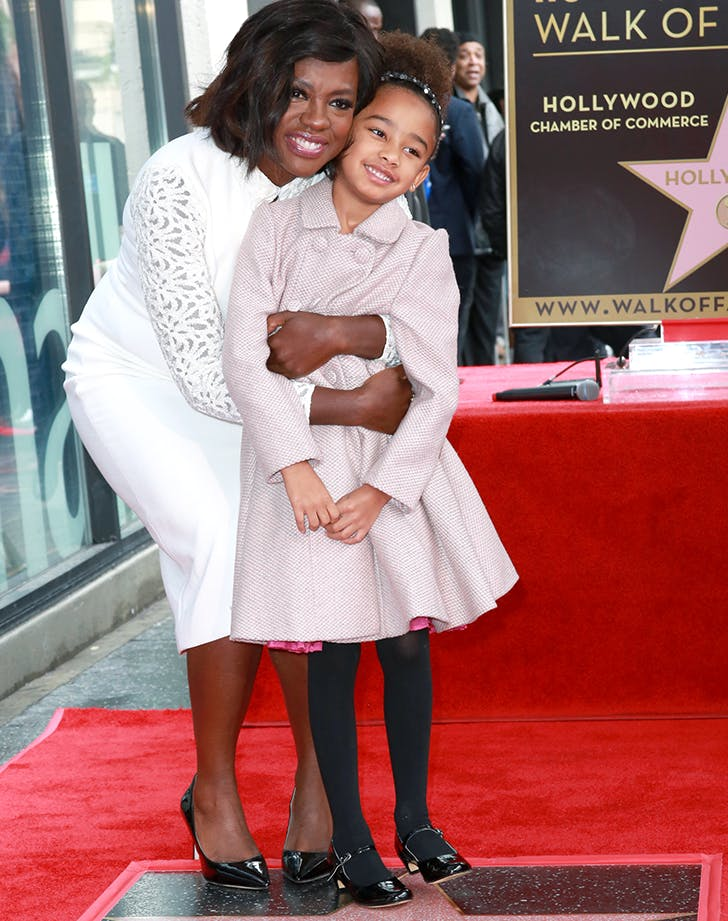 viola davis with her daughter