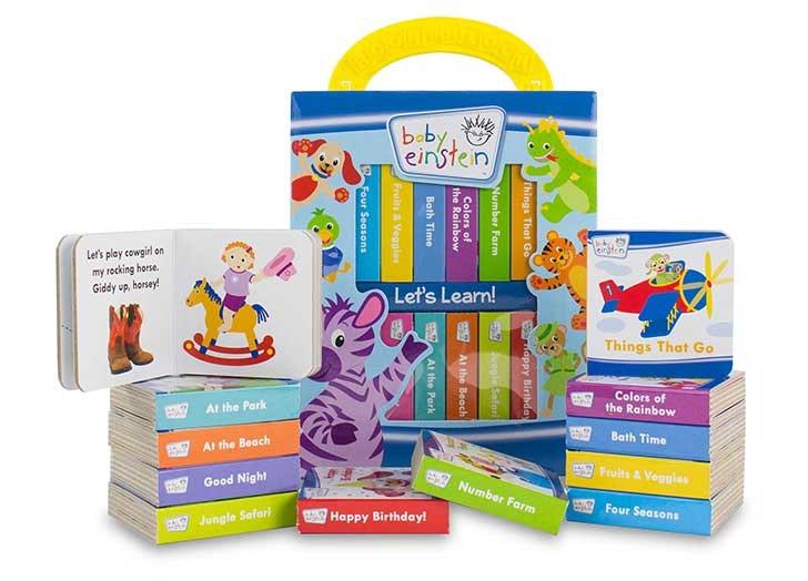 Baby Einstein My First Library Gender Neutral Baby Shower Gift