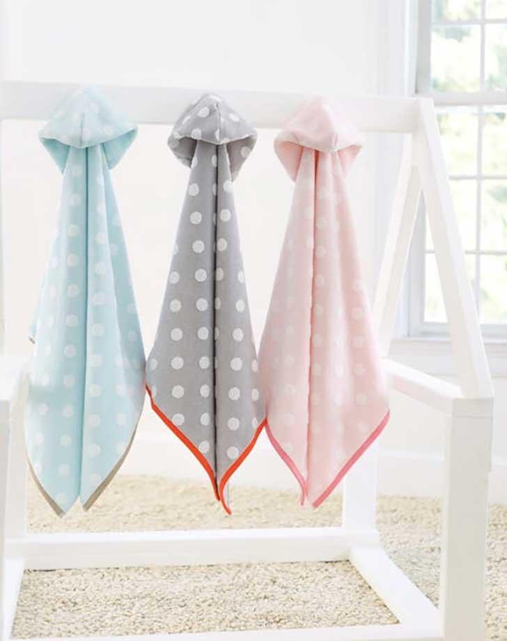 Caro Kids Dumbo Dot Hoodies Gender Neutral Baby Shower Gift