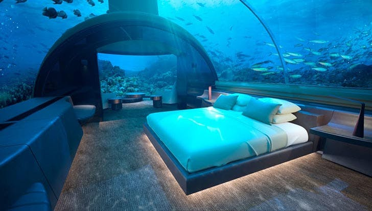 This Incredible Underwater Hotel Will Make All Your 'Little Mermaid' Dreams Come True