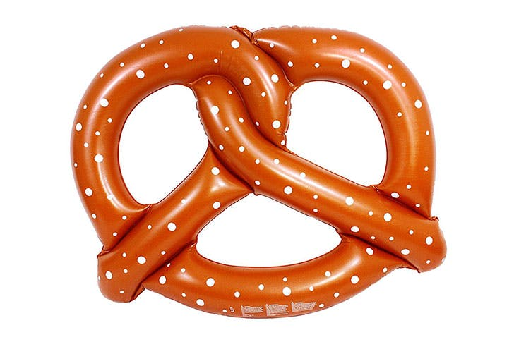 Giant Pretzel Swim Fun Inflatable Floating Seat