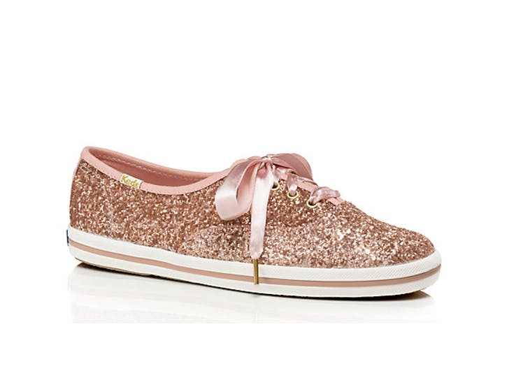 Glitter pink sneakers