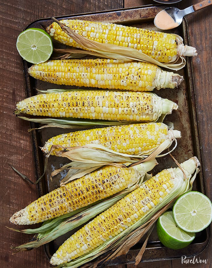 Grilled Corn with Spicy Aioli recipe