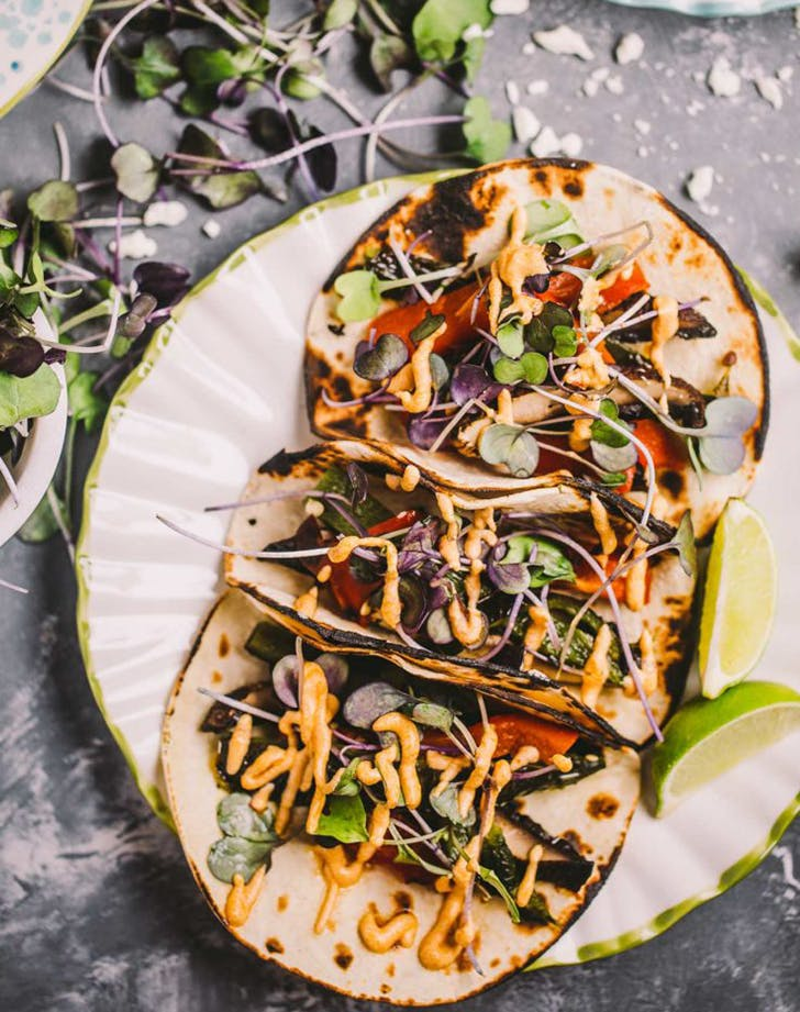 Grilled Vegetarian Tacos  recipe