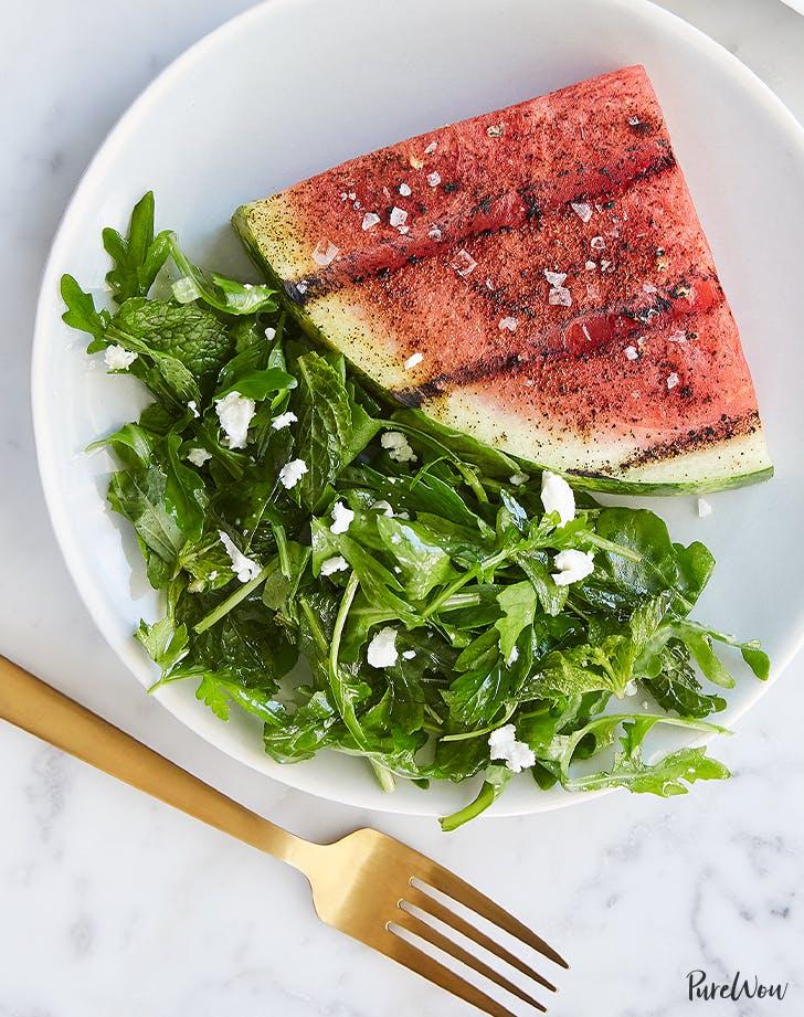 Grilled Watermelon Steaks recipe