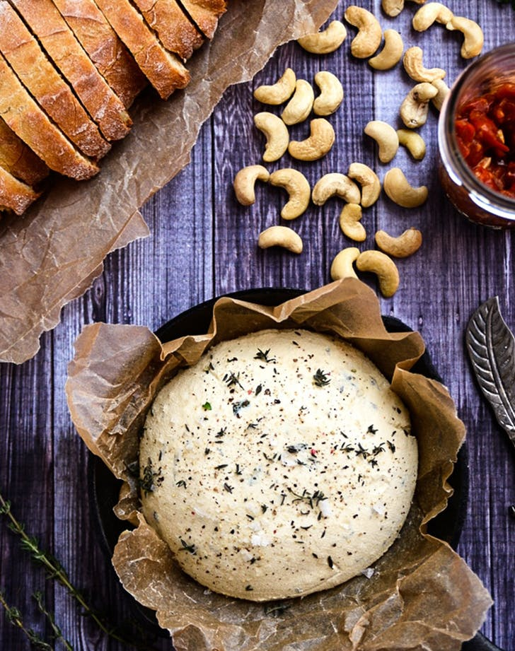 Herbed Vegan Cashew Cheese recipe