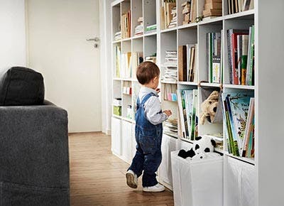 Ikea catalogue book shelves 400