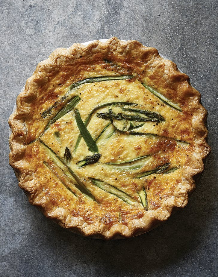 Joanna Gaines's Asparagus and Fontina Quiche