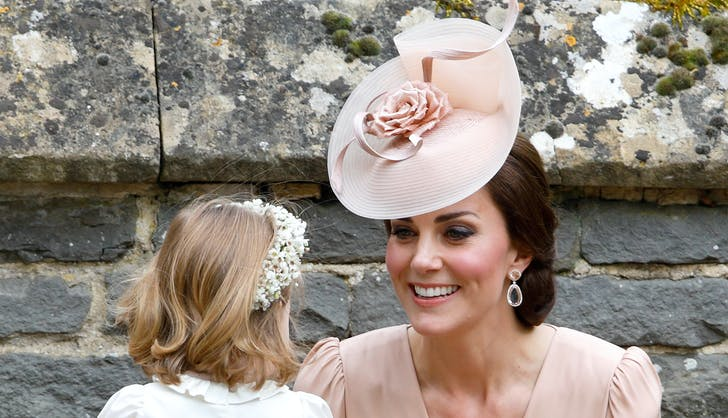 Kate Middleton Princess Charlotte at Pippa Middleton s wedding
