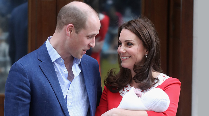 Prince William and Kate Middleton announce newborn son's name