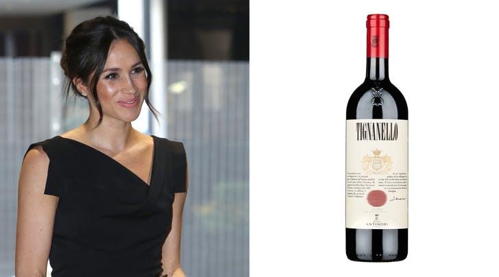 Meghan Markle and Tignanello wine hero