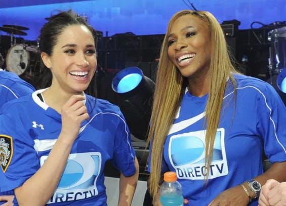Meghan Markle  Serena Williams friendship