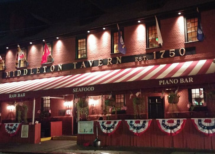 Middleton Tavern in Maryland