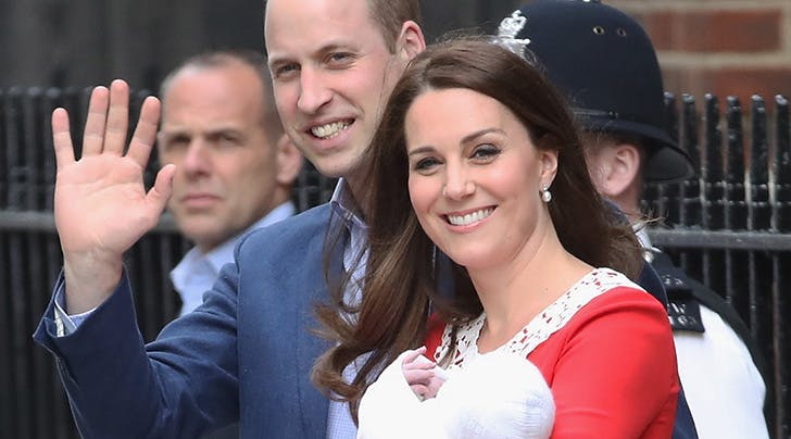 Royal Baby No. 3 Arrived on a Significant Day in British History
