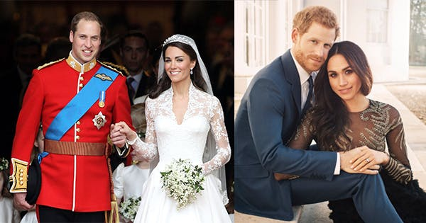 5 differences between meghan markle kate middleton s weddings purewow 5 differences between meghan markle